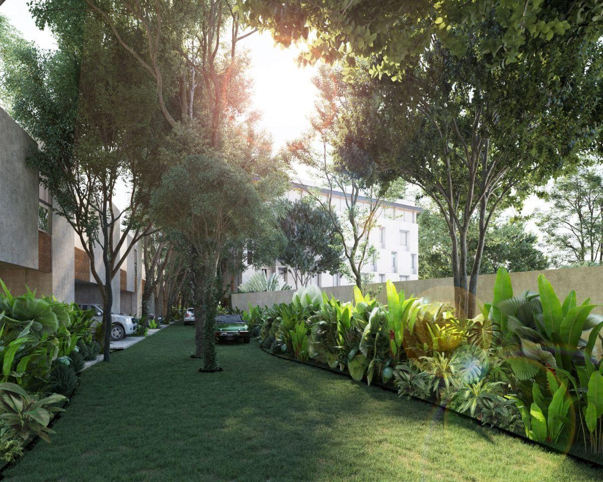 15 de 16: calles ecologicas dentro del residencial