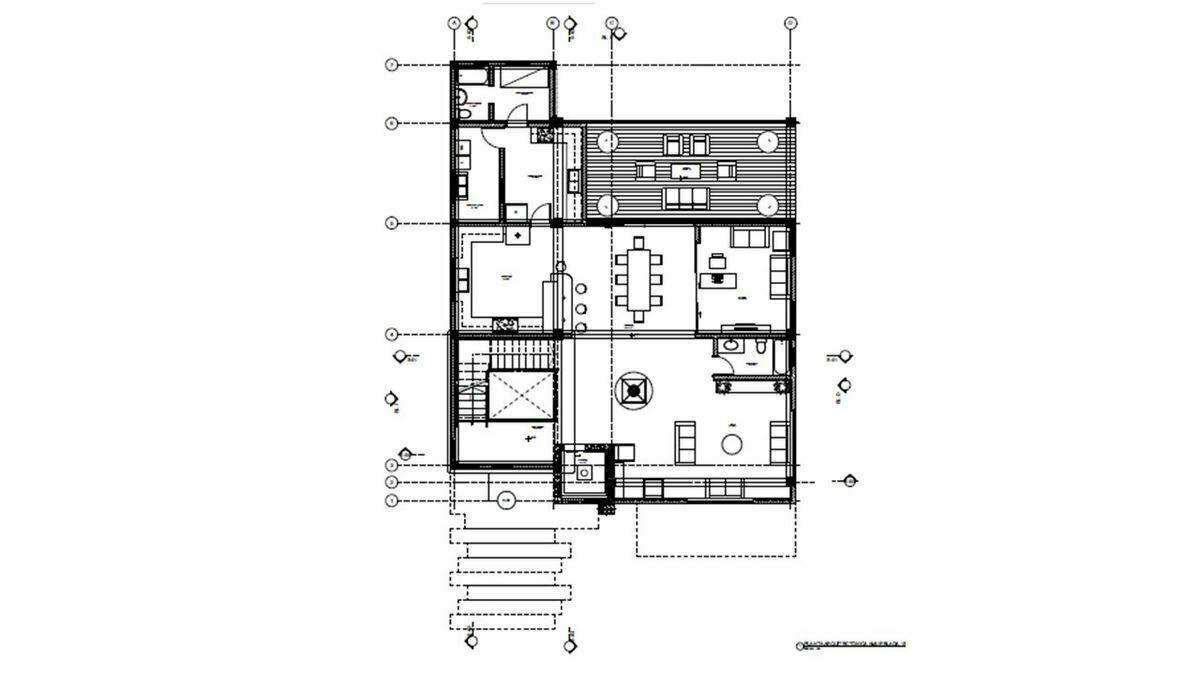 15 de 16: 1er nivel con Terraza