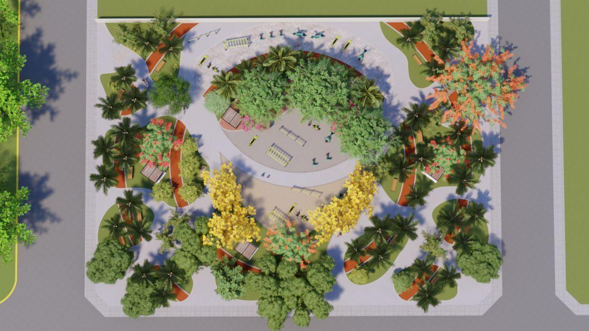 6 de 7: Gimnasio urbano Imagen ilustrativa