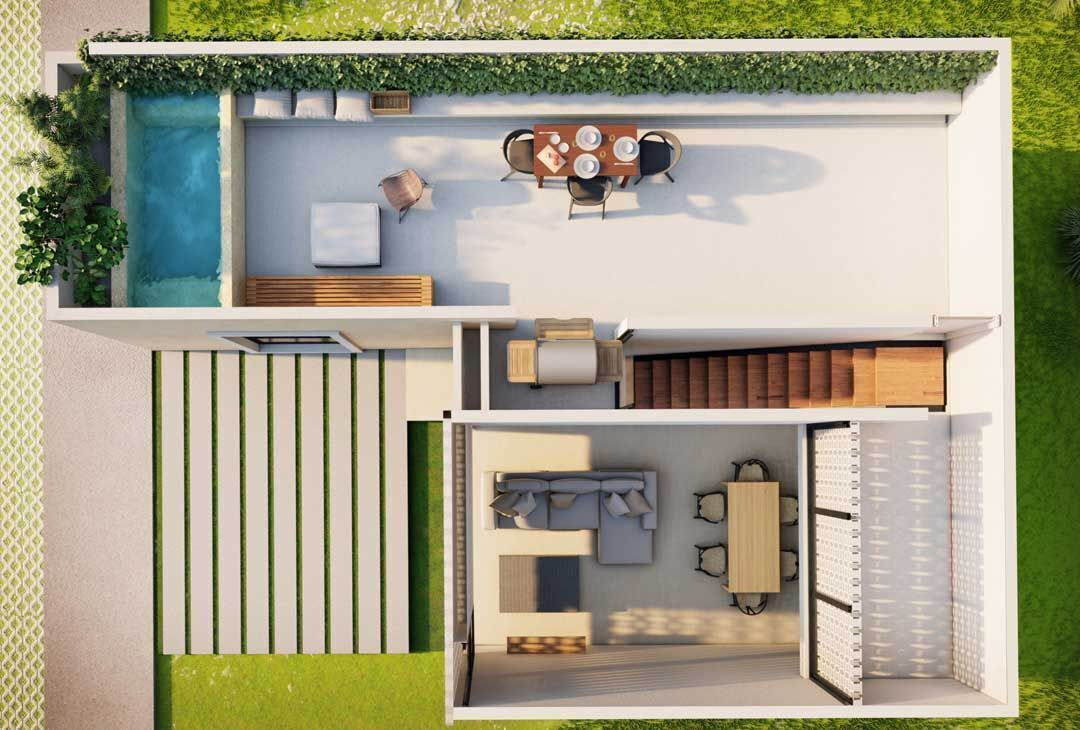 7 de 10: Villas en venta de una planta en Privada Maruva Margaritas C