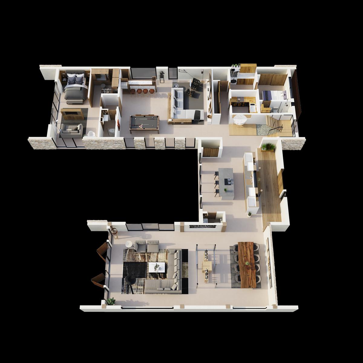 13 de 14: Primer piso