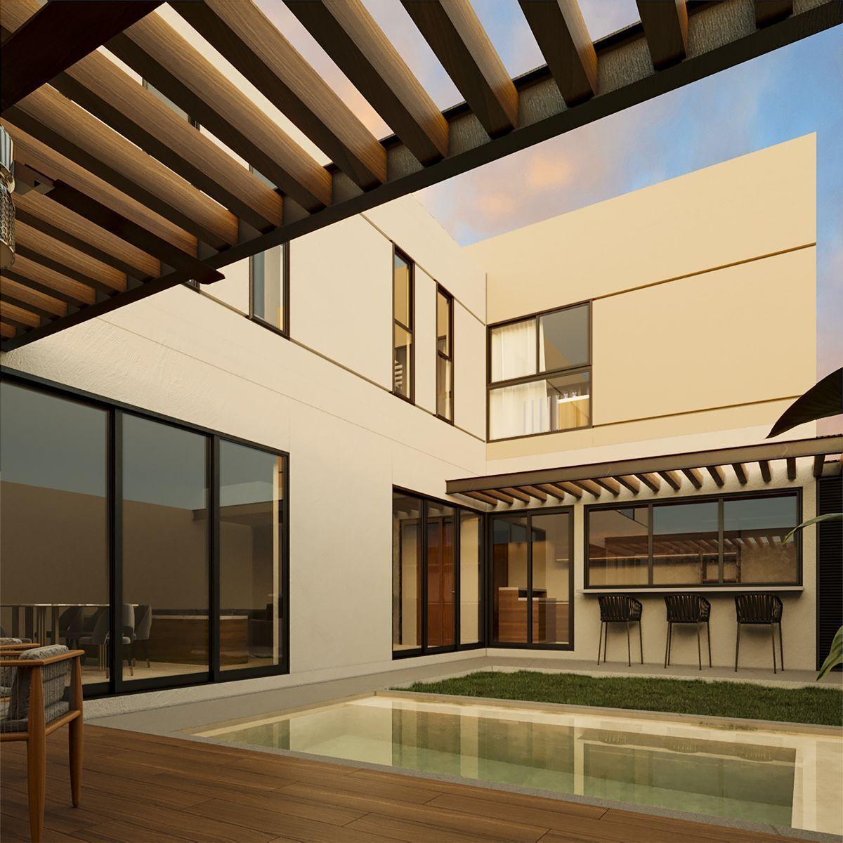 6 de 14: Casa en venta en Ascala Homes Temozón,Mérida Yucatán