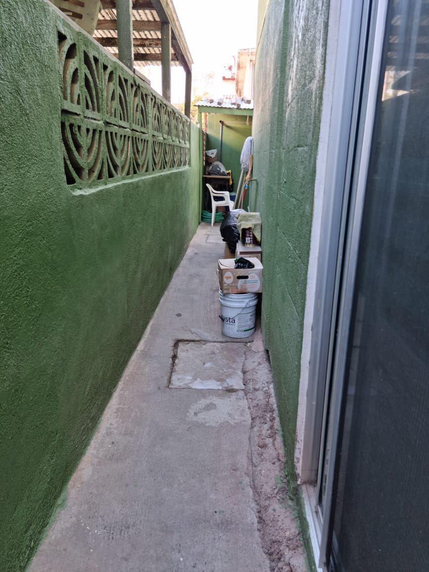 20 de 23: Pasillo de servicio con orientación hacia el patio