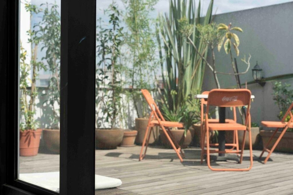 7 de 13: Roof garden privado