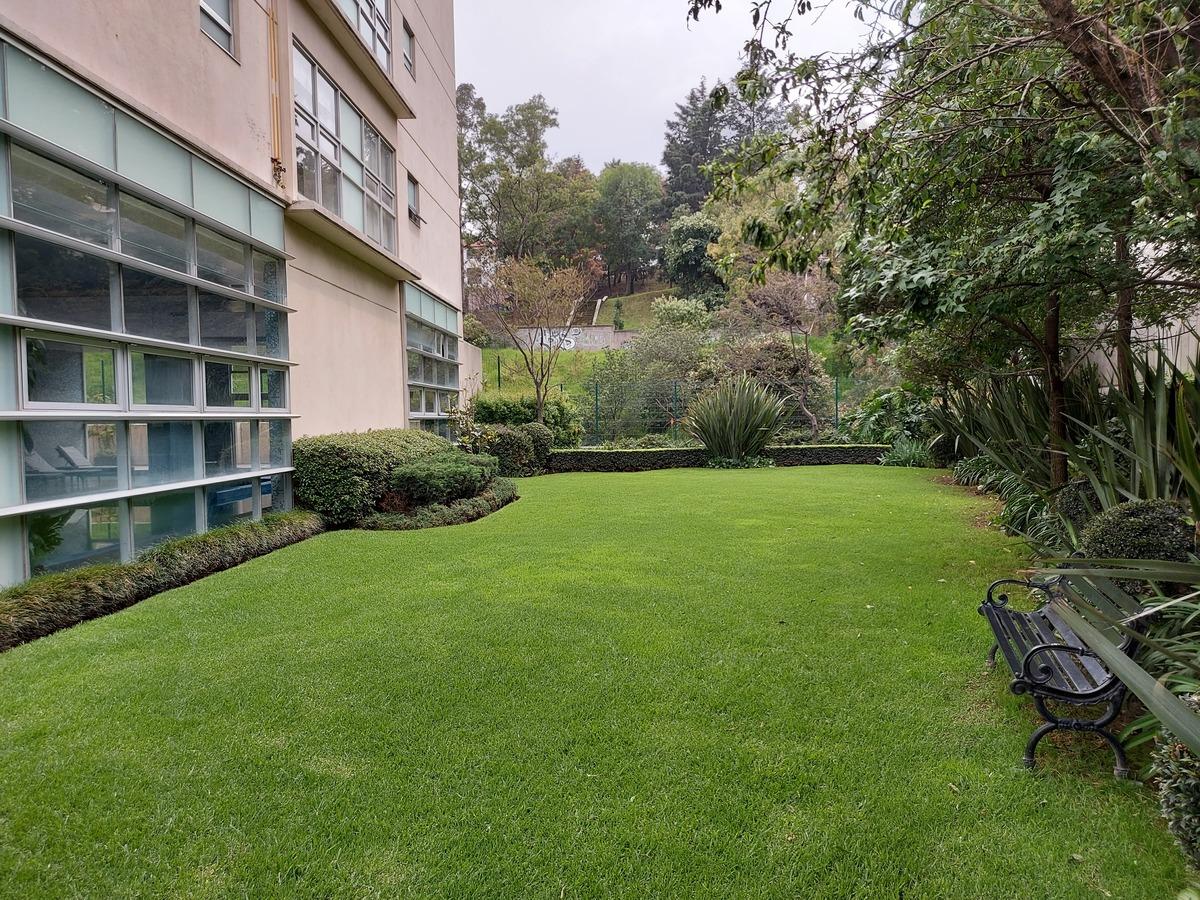 6 de 30: Jardin trasero del Edificio