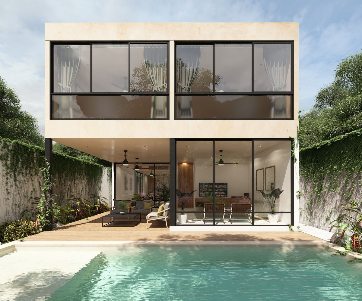 7 de 9: Casa en venta privada Silvano Santa Gertrudis Copo, Mérida