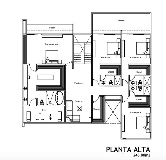 3 de 13: Planta Baja: 270 m2