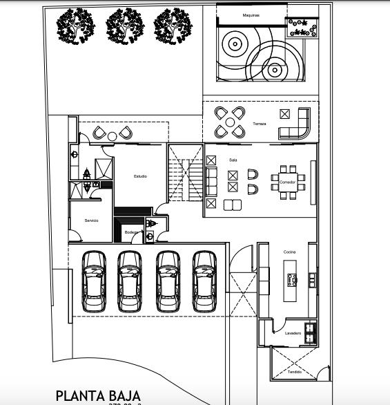 4 de 13: Planta Alta: 248 m2