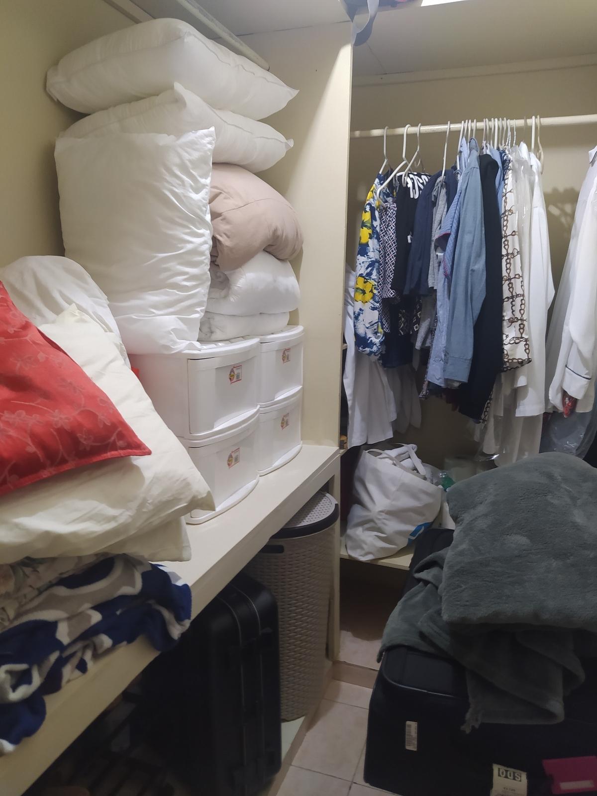 10 de 13: Walking closet Hab. Principal