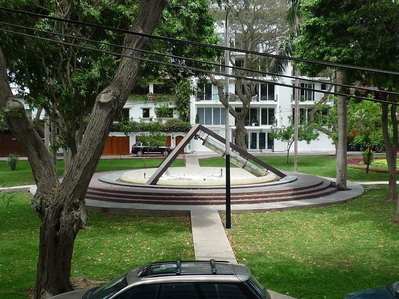 13 de 14: Parque Dammert donde se escuchan pajaritos