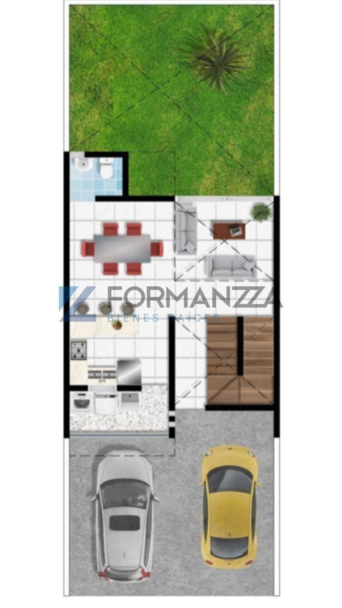 2 de 3: Plano arquitectónico, planta baja.