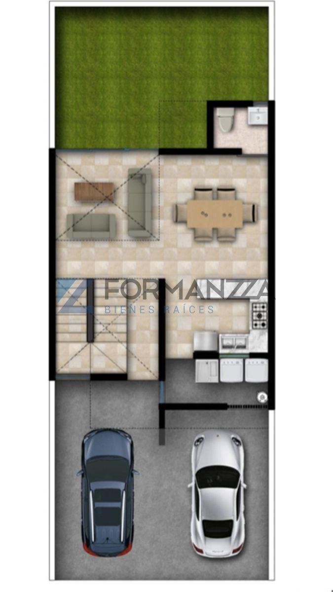 2 de 3: Plano arquitectónico planta baja.