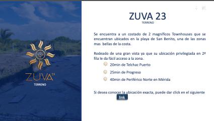 2 de 4: Terreno en venta en Zuva 23 en Playa  San Benito,Mérida Yuca