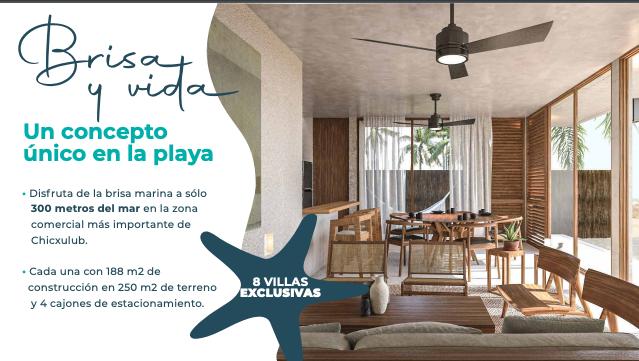 8 de 15: Casa en venta en villas Costera Chicxulub Puerto,Mérida Yuca