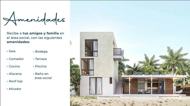 7 de 15: Casa en venta en villas Costera Chicxulub Puerto,Mérida Yuca