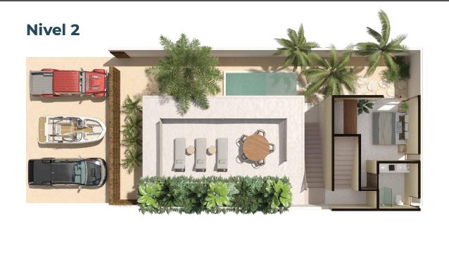 5 de 15: Casa en venta en villas Costera Chicxulub Puerto,Mérida Yuca