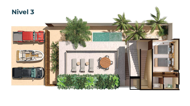 6 de 15: Casa en venta en villas Costera Chicxulub Puerto,Mérida Yuca