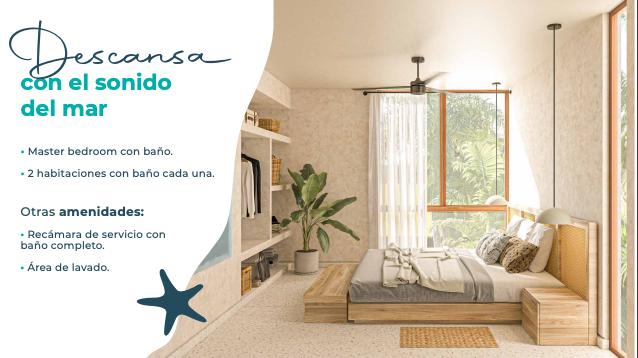 10 de 15: Casa en venta en villas Costera Chicxulub Puerto,Mérida Yuca