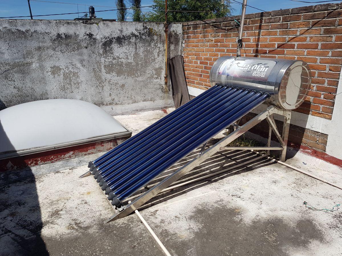 18 de 20: calentador solar