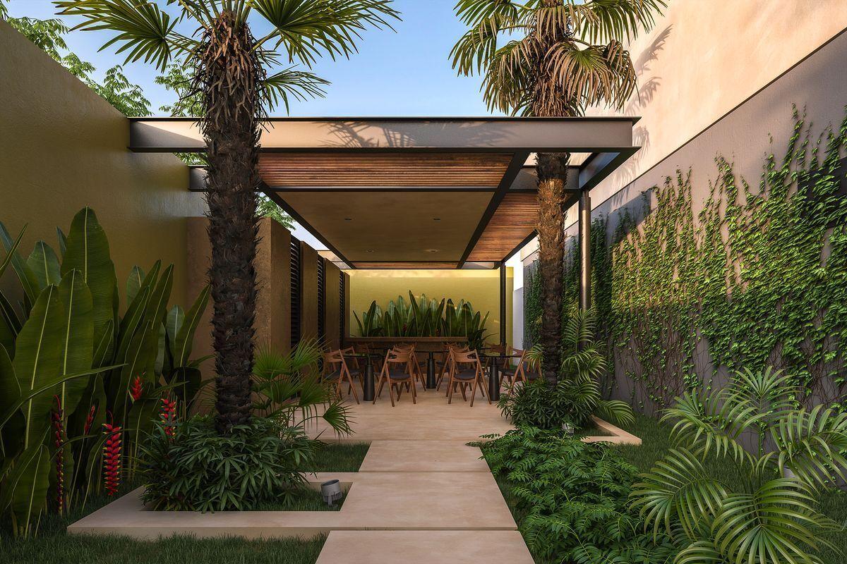 10 de 15: Casa tipo Townhouse en venta en Temozon Norte Mérida Yucatán