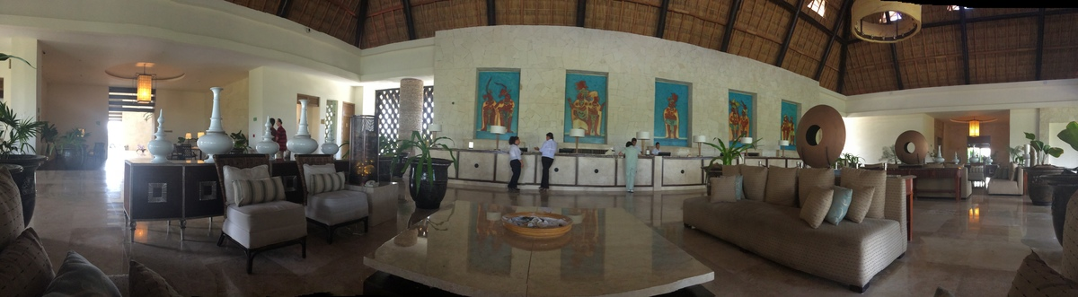 19 de 19: Recepción Hotel Mayan Palace