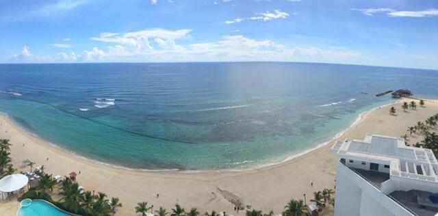 31 de 35: Vista Panoramica a la Playa