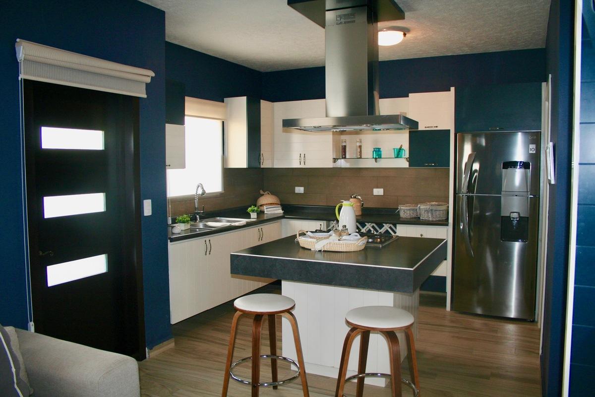 6 de 21: Cocina con cuarto de servicio - Provenza Residencial