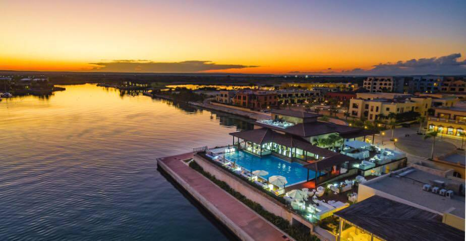 11 de 13: Vista aerea de la Marina del Fishing Lodge
