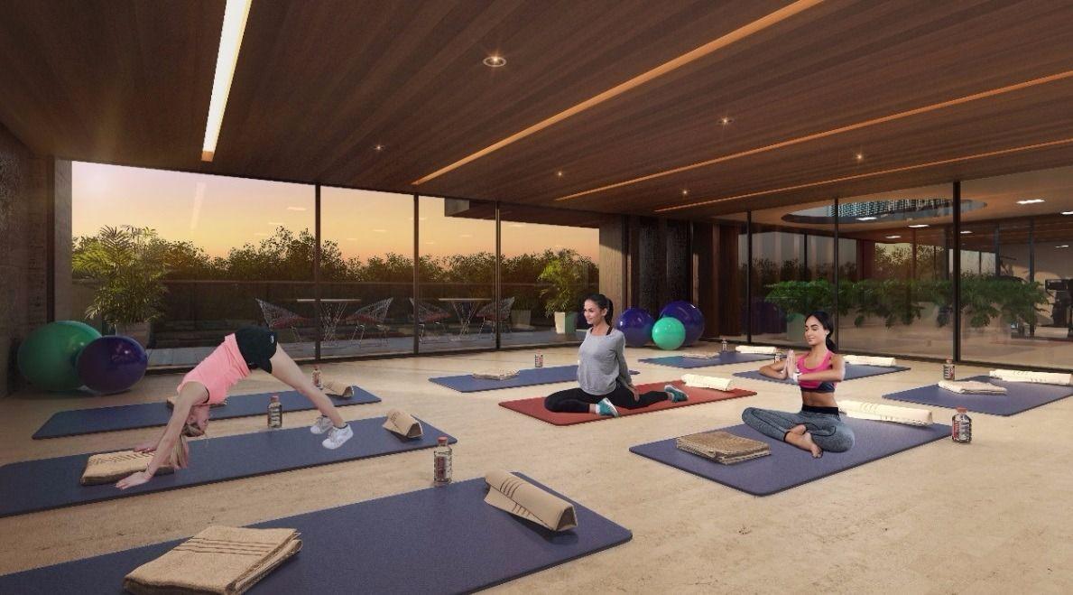 11 de 18: Yoga estudio