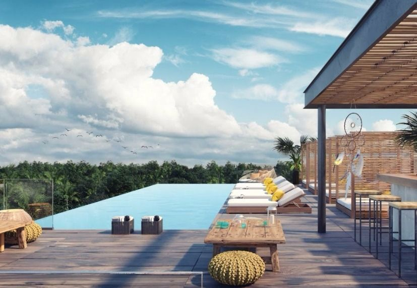 1 de 29: rooftop con alberca