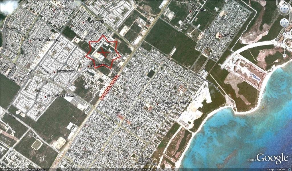 1 de 3: Terreno en venta Playa del Carmen