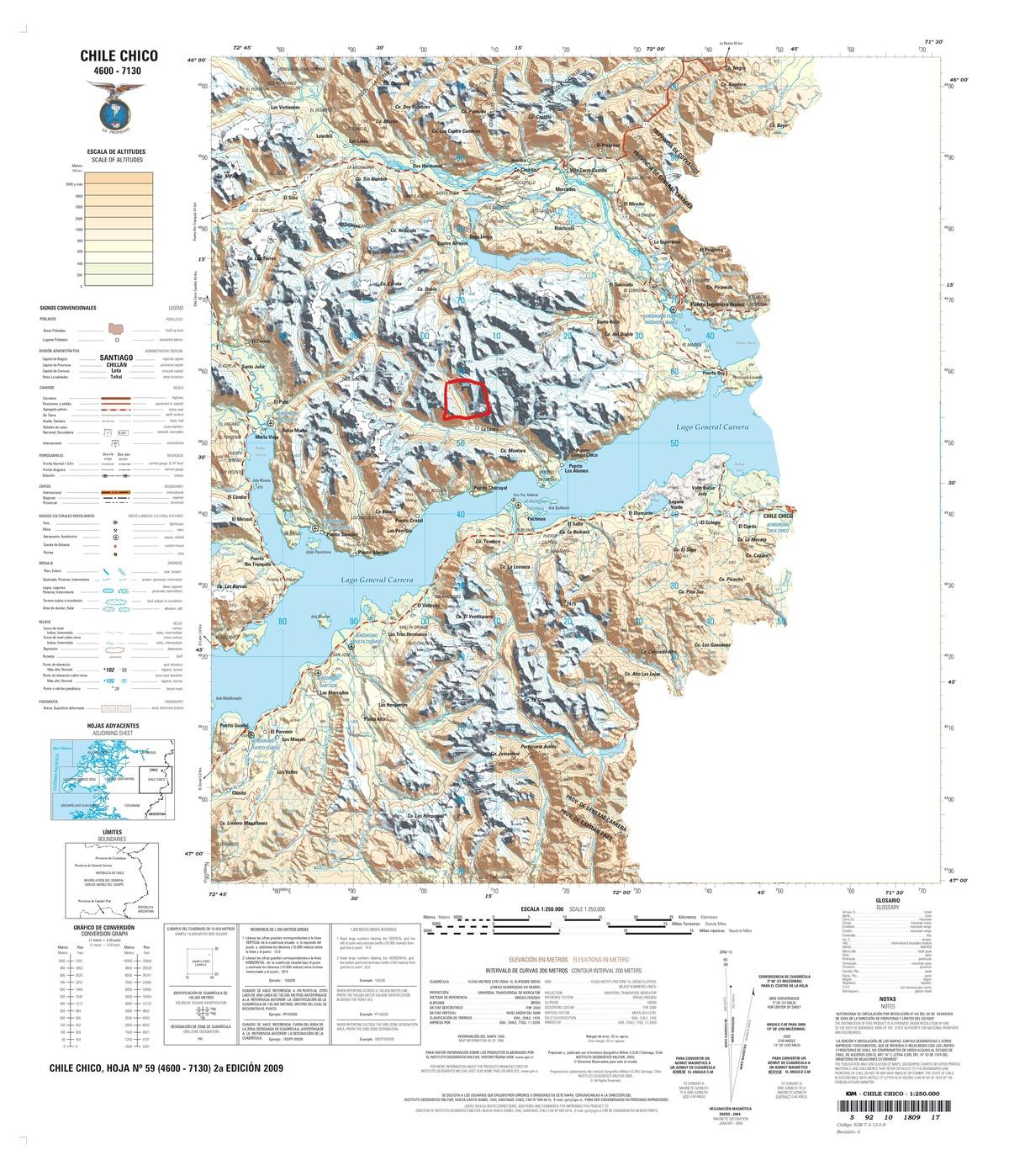 2 de 6: Emplazamiento del predio en el Mapa