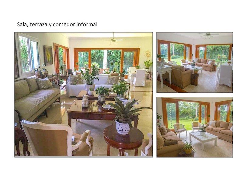 2 de 13: Interiores  de la casa