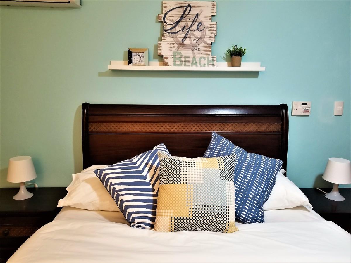 13 de 18: Cómoda cama con agradables almohadas
