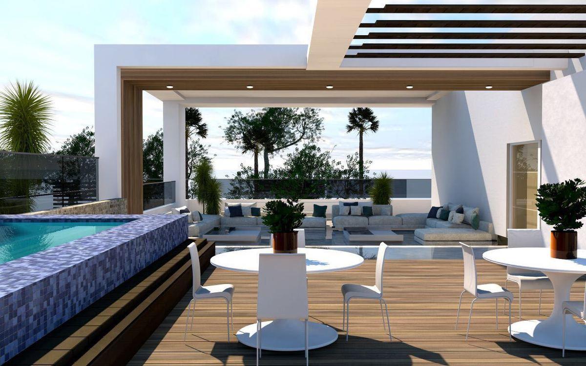 3 de 7: Venta Apartamento 2da con Terraza y Piscina en Bella Vista