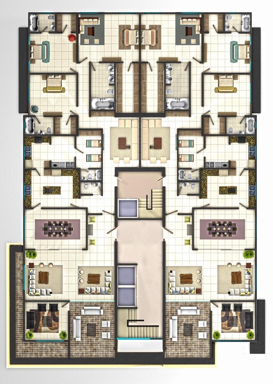 2 de 3: Venta apartamento en construcción av anacaona