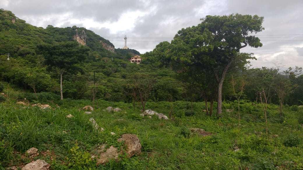 2 de 7: Vista del Cristo de Copoya desde la propiedad