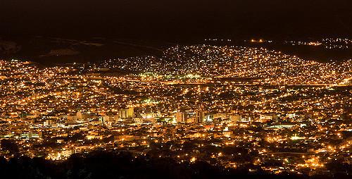4 de 7: Espectacular vista nocturna de la ciudad de Tuxtla Gutierrez