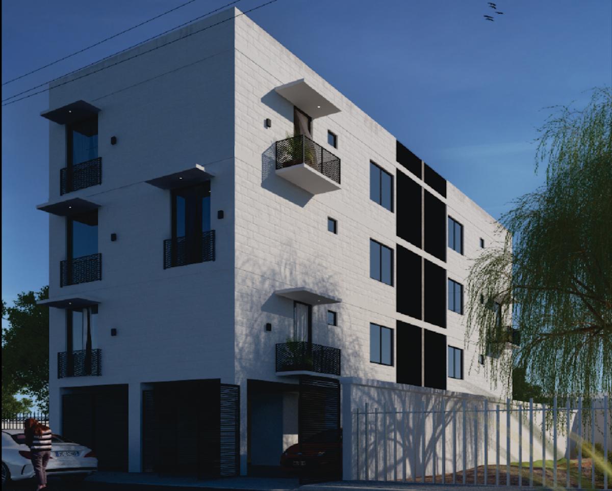 8 de 13: Edificio con 6 departamentos, 8 lugares de estacionamientos