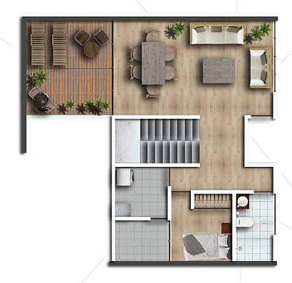 10 de 10: Plano segundo piso