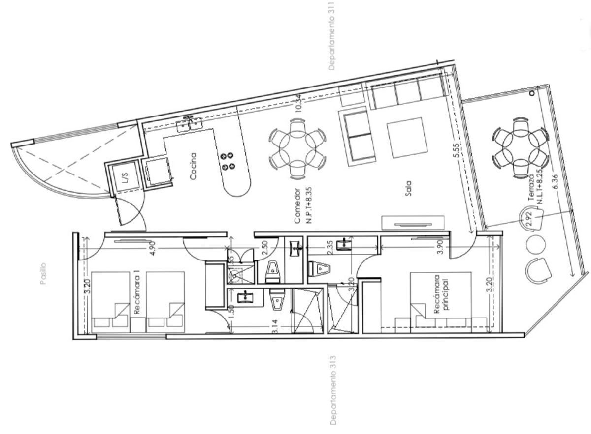 5 de 5: Plano arquitectonico