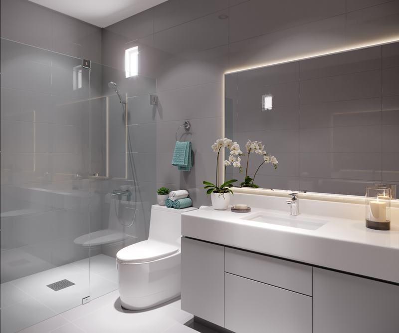 12 de 17: Imagen referencial del baño secundario