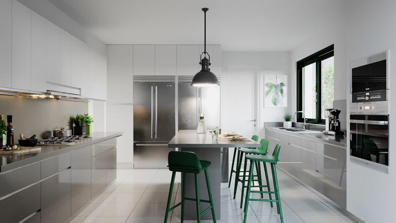9 de 21: Imagen referencial de la cocina moderna