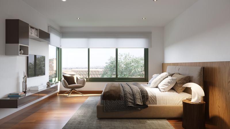 10 de 21: Imagen referencial del dormitorio secundario