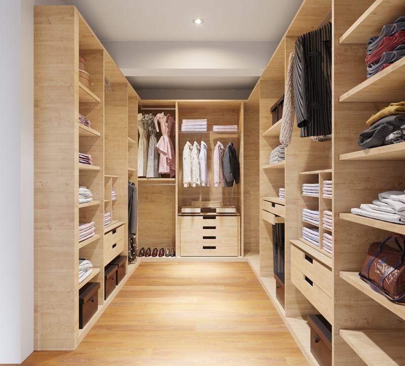 6 de 21: Imagen referencial del walk in closet