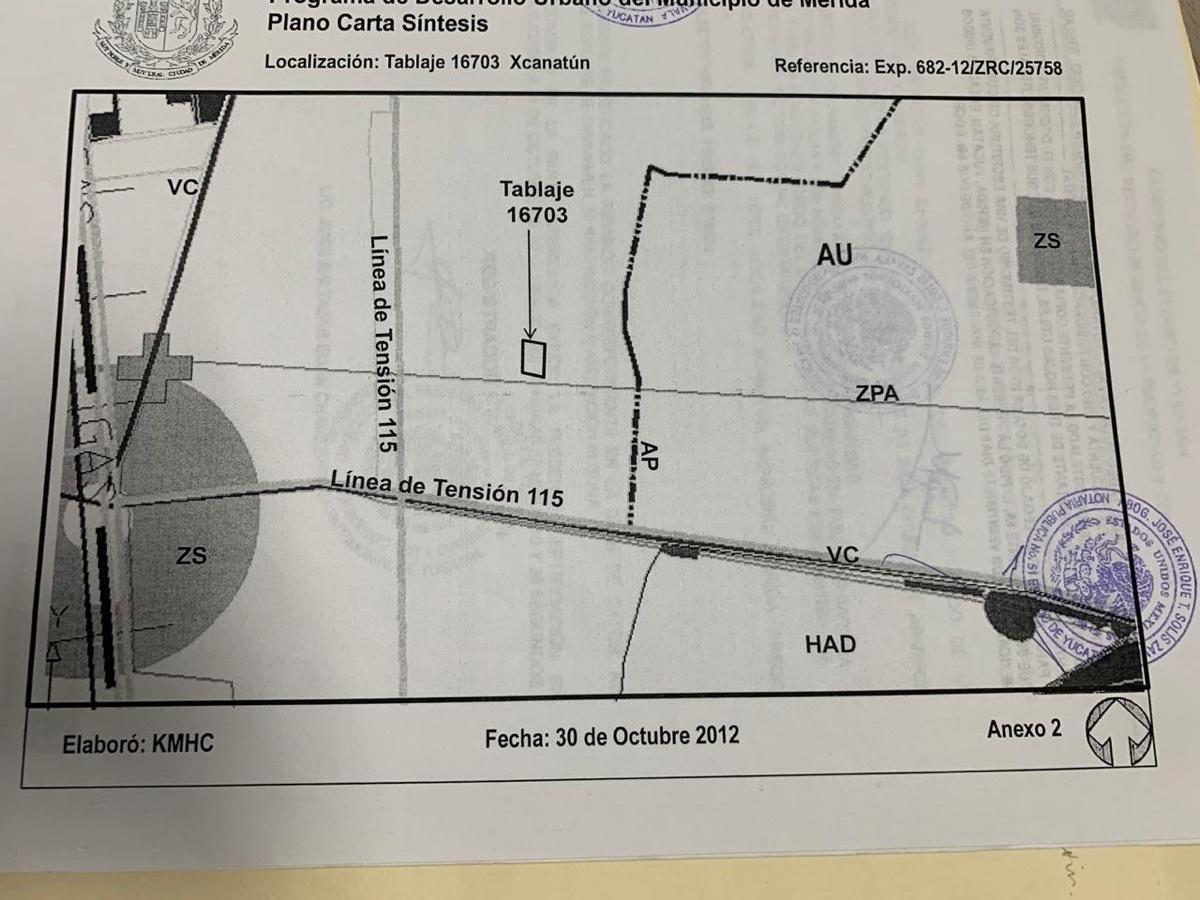 3 de 12: TERRENO EN VENTA AL NORTE DE MERIDA YUCATAN CHICHEN REALTY