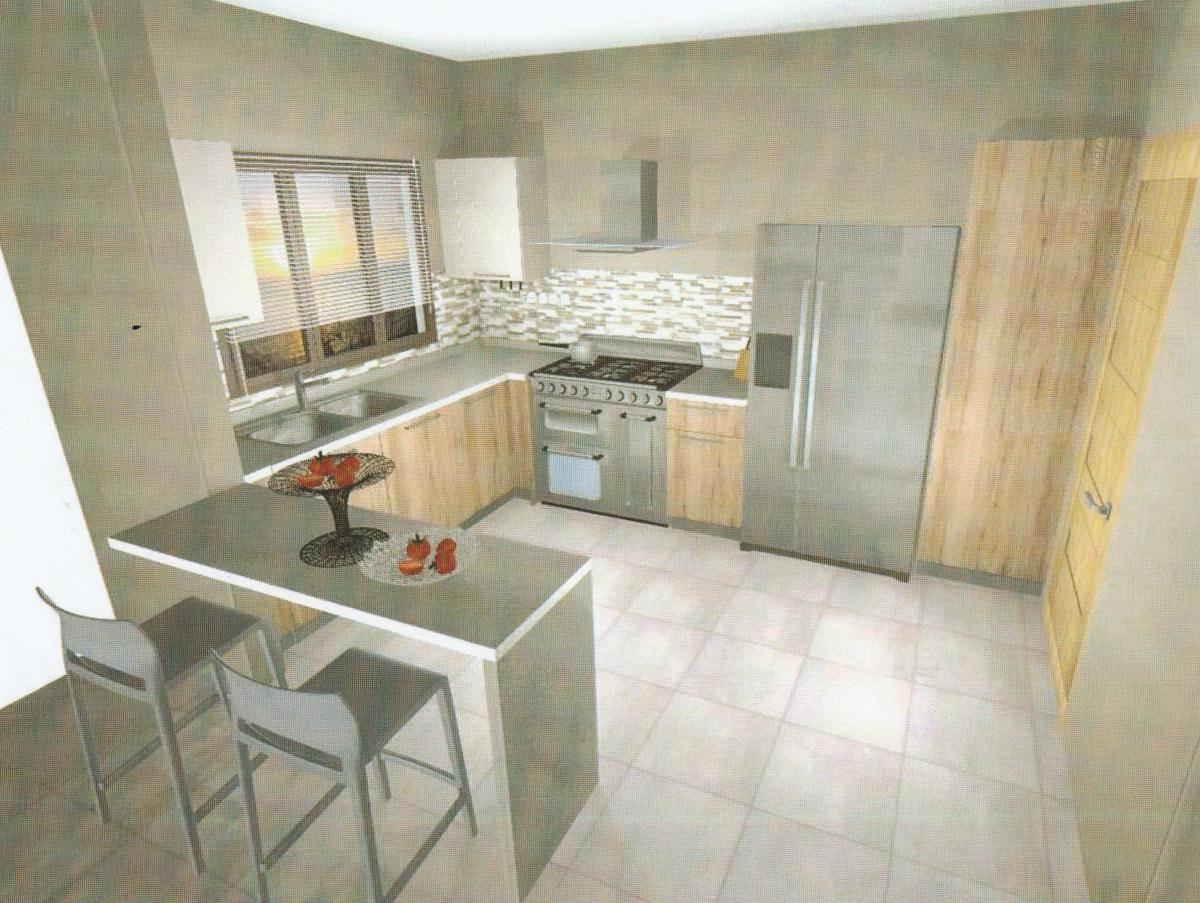 12 de 16: Esquema conceptual de la cocina.