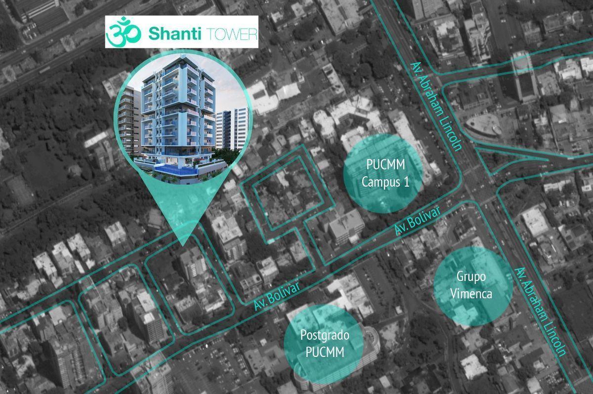 16 de 16: Ubicación de SHANTI TOWER
