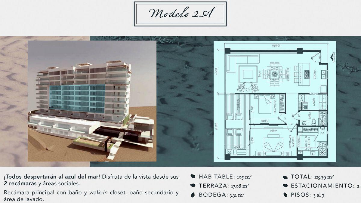 6 de 16: Departamentos en Venta en Torre Marea PMR-406