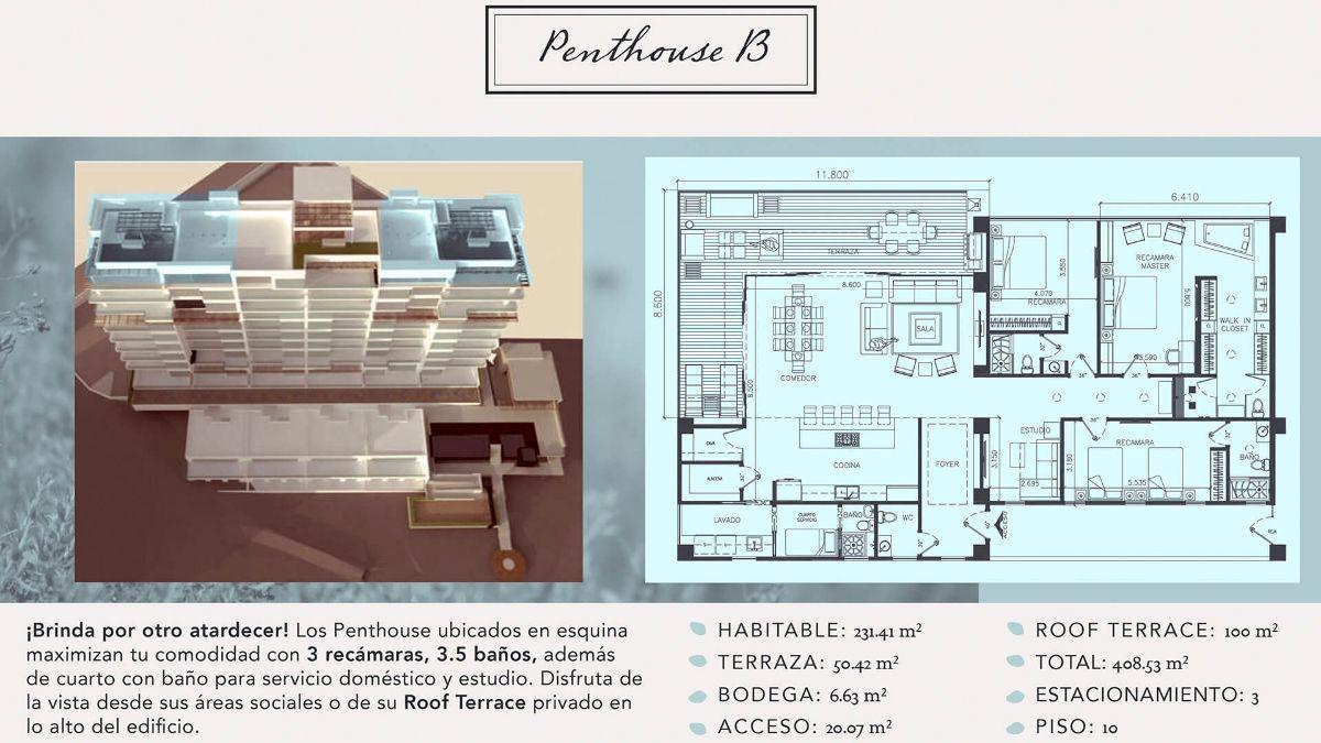 11 de 16: Departamentos en Venta en Torre Marea PMR-406